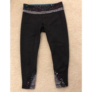 Lululemon Inspire Run Crop Leggings